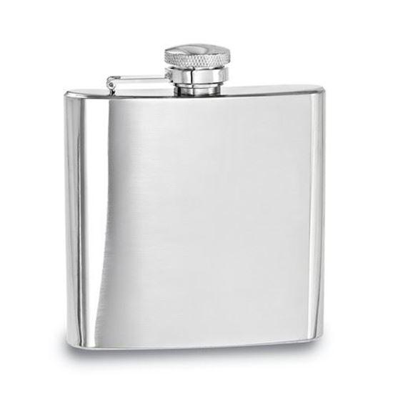Sticluta inox plata Relags pentru bauturi 180 ml [0]
