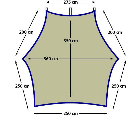 Tenda Eurotrail Carside ETTE0626, 360x350cm [2]