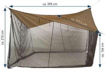 Tenda hamac Amazonas Moskito [3]