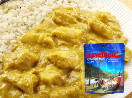 Aliment instant Travellunch Chicken Korma Curry with Rice 250 g 50234 [0]