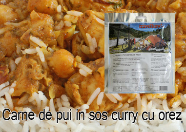 Aliment instant Travellunch Chicken Korma Curry with Rice 50134 [0]