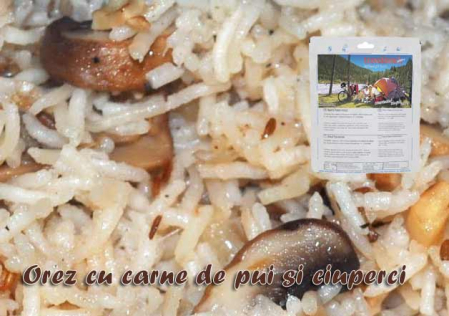 Aliment instant Travellunch Chicken Risotto 51237 [0]