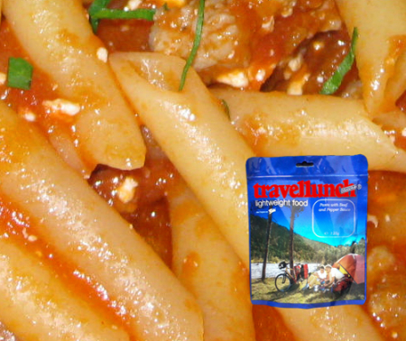 Aliment instant Travellunch Pasta with Napoli Tomato Sauce 250g 50244 E vegetarian, 2 portii [0]