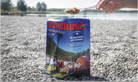 Aliment instant Travellunch Rice with Beef and Pepper sauce 250g 50249 E [1]