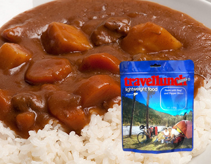 Aliment instant Travellunch Rice with Beef and Pepper sauce 250g 50249 E [0]