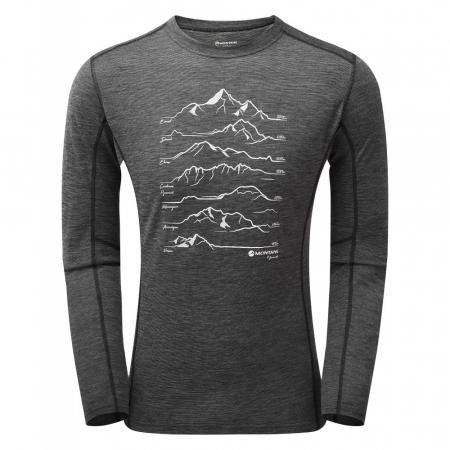 Bluza corp lana merino Montane Primino 140g 7 Summits [2]