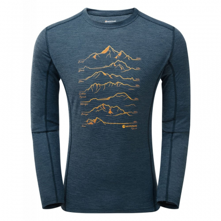 Bluza corp lana merino Montane Primino 140g 7 Summits [3]