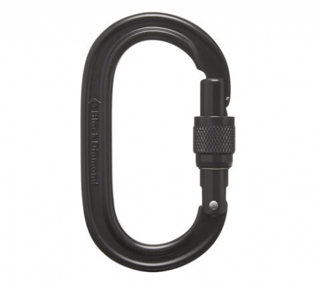 Carabiniera alpinism Black Diamond Oval keylock screwgate [1]