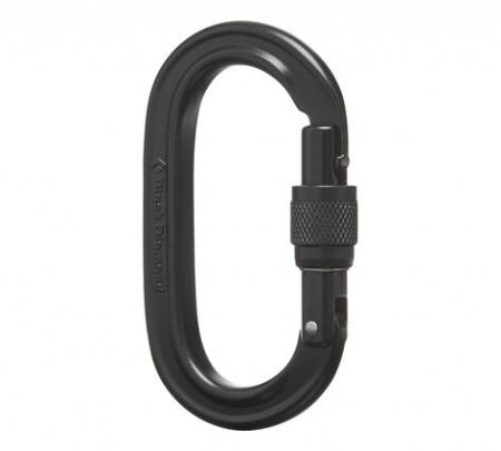 Carabiniera alpinism Black Diamond Oval keylock screwgate [0]