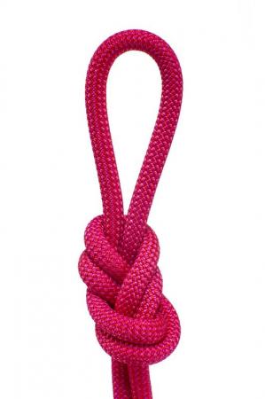Coarda dinamica Gilmonte, Zilmont Raasta 10 mm, roz, vanzare la metru, pret pentru 1m [0]