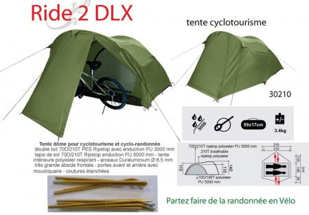 Cort Freetime Raid 2 DLX,verde,2 persoane [1]