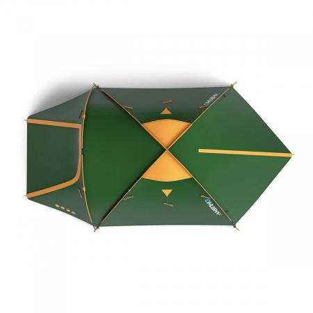 Cort Husky Bizon 3 Classic-Verde-3 persoane [3]