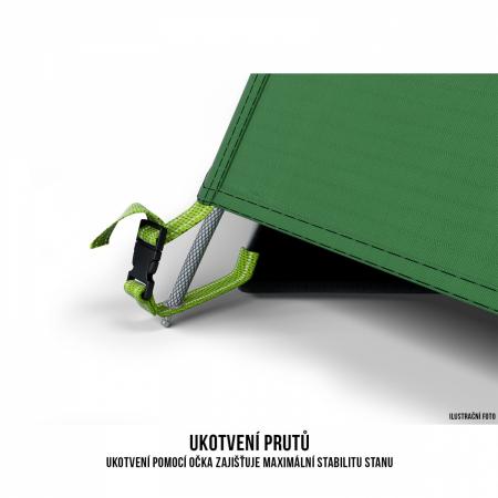 Cort Husky Bizon 3 Plus, verde, 3 persoane [8]