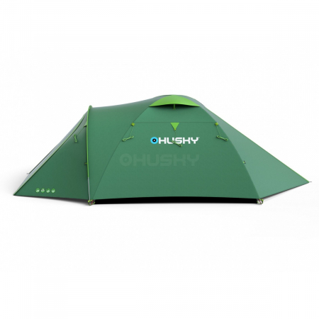 Cort Husky Bizon 3 Plus, verde, 3 persoane [1]