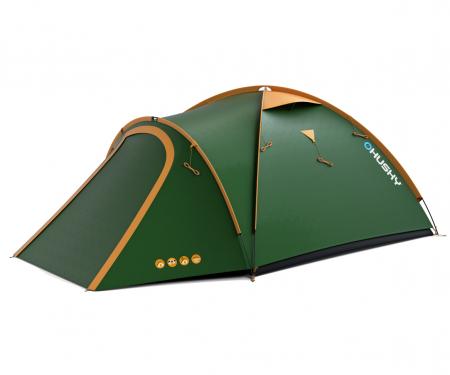 Cort Husky Bizon 4 Classic-Verde-4 persoane [0]