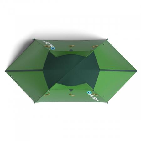 Cort Husky Bright 4-Verde-4 persoane4