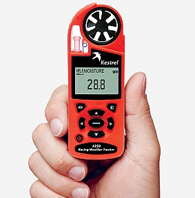 Fluo- Anemo-Termo- Higro- Baro,Altimetru 4200 Kestrel [1]