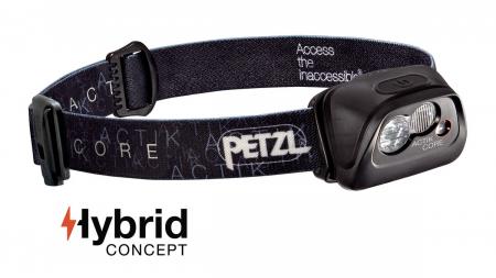 Frontala Petzl Actik Core 350 lm black- Resigilat [0]