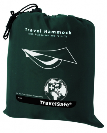 Hamac TravelSafe Travel TS0130, 275x140cm, verde, 1 persoana [2]