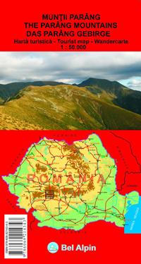 Harta Bel Alpin Muntii Parang [0]