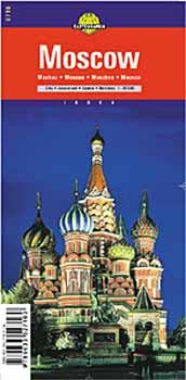 Harta Cartographia Moscova0