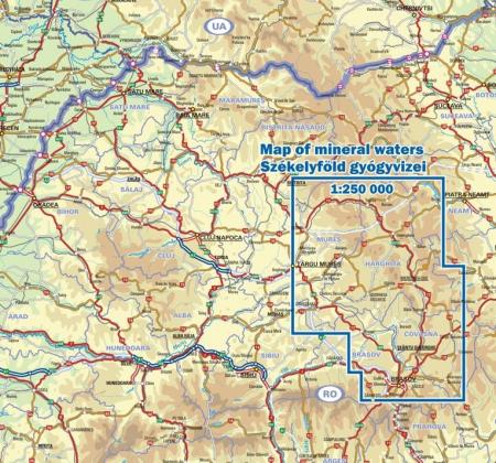 Harta Dimap izvoarelor de apa minerala din Secuime [2]