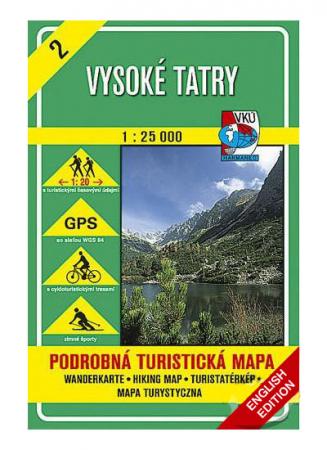 Harta Harmanec Muntii Tatra Inalta (Vysoke) [0]