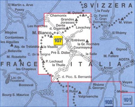 Harta IGC Chamonix Mont Blanc [1]