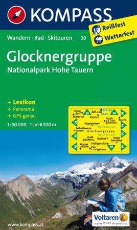 Harta Kompass Glocknergruppe [0]