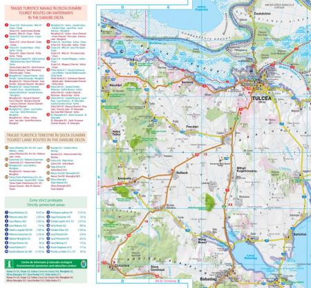 Harta Schubert &Franzke Delta Dunarii [2]