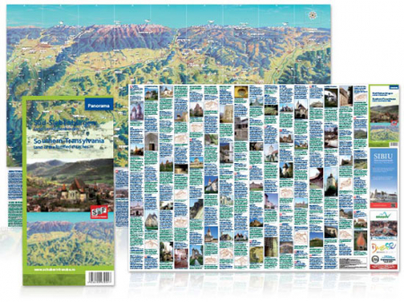 Harta Schubert &Franzke Panorama SudTransilvania [2]