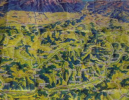 Harta Schubert &Franzke Panorama SudTransilvania [3]
