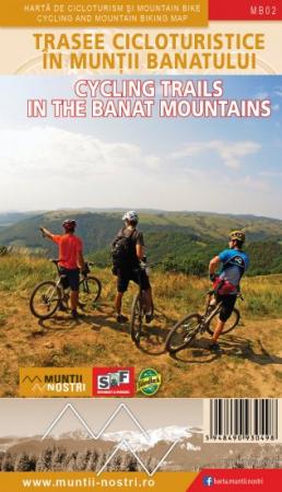 Harta Schubert &Franzke Trasee cicloturistice in muntii Banatului [0]