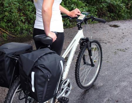 Husa telefon cu suport pentru bicicleta Overboard [5]