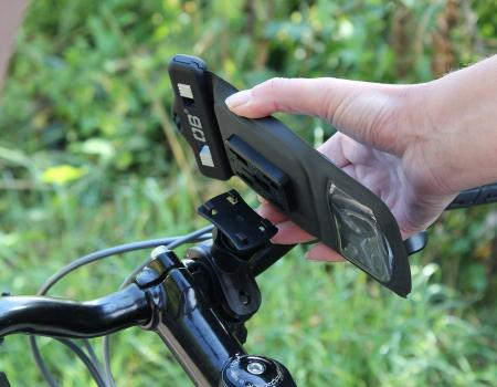 Husa telefon cu suport pentru bicicleta Overboard [1]
