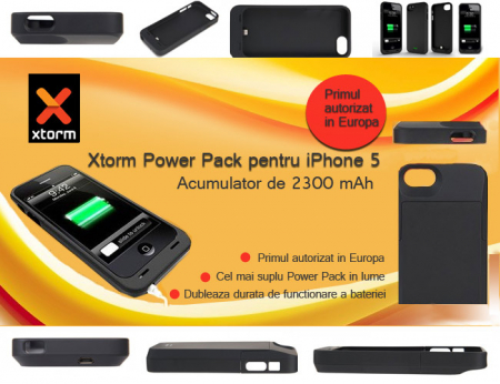 Incarcator iPhone 5 Xtorm Power Pack AM408 [6]