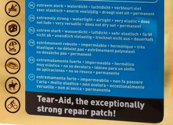 Kit de reparatii Tear Aid A [1]