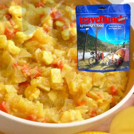 Mancare deshidratata Travellunch Caribbean potato curry with chicken and shrimps 50222 250g, portie dubla [0]