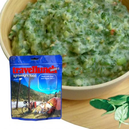 Mancare deshidratata Travellunch Spinach Mash Potatoes 51156G 125g -vegetarian -fara gluten [0]