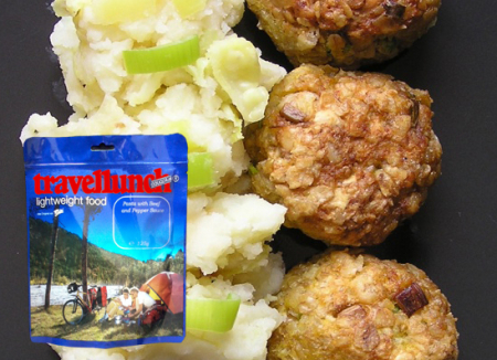 Mancare deshidratata Travellunch Meatballs&Mash Potato 125g 50140 E [0]