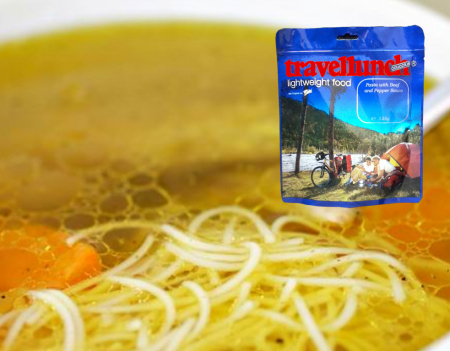 Mancare liofilizata Travellunch Chicken soup with Noodles 2x500ml 50262 [0]