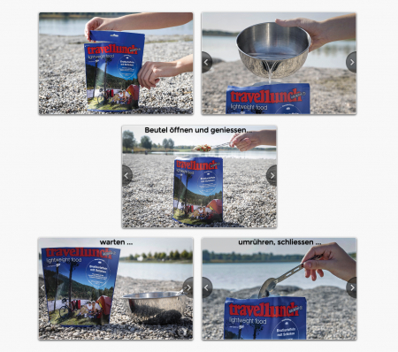 Mancare liofilizata Travellunch Goulash Soup with Beef 2x500ml 50267 [1]