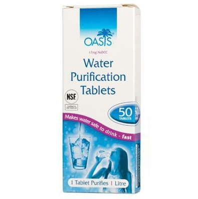 Pastile purificare apa BCB 50 bucati [0]