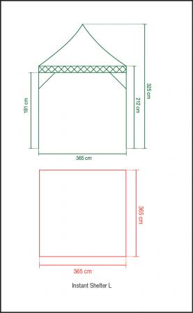 Pavilion Coleman Instant Shelter L [3]
