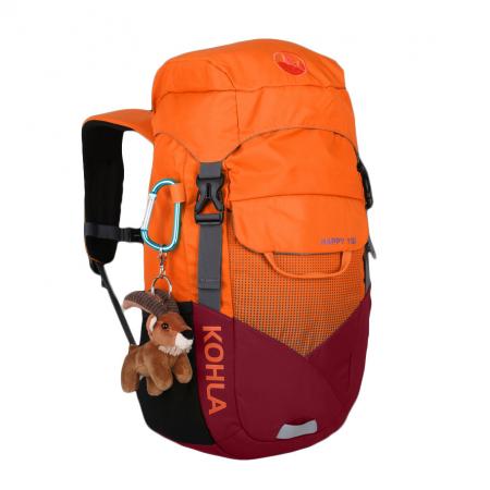 Rucsac copii Kohla Happy 15l 75115, rosu/portocaliu [0]