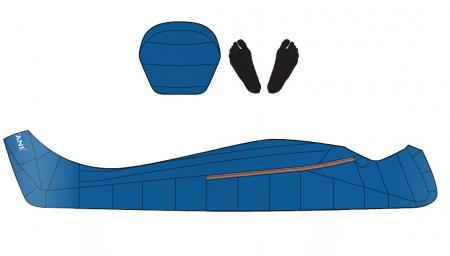 Sac de dormit cu puf Montane Minimus (Extrem-18°C) [5]