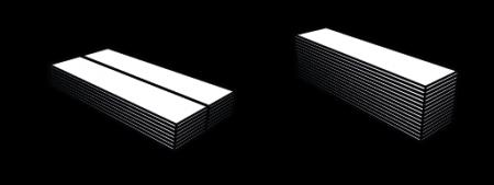 Saltea pliabila Pinguin Fold Alu, 185x55x1.5cm, impachetat 55x13x13cm, 470g [3]