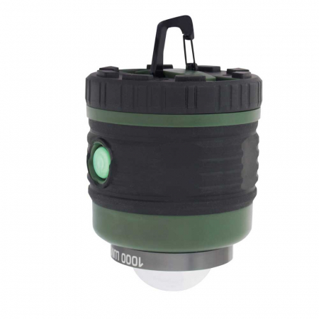 Lanterna reincarcabila 1000lm cu acumulator 4000mah, functie powerbank cu port USB, Eurotrail Leon 1000 ETLT1176 [3]