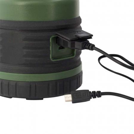 Lanterna reincarcabila 1000lm cu acumulator 4000mah, functie powerbank cu port USB, Eurotrail Leon 1000 ETLT1176 [1]