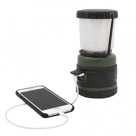 Lanterna reincarcabila 1000lm cu acumulator 4000mah, functie powerbank cu port USB, Eurotrail Leon 1000 ETLT1176 [4]